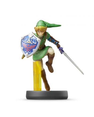 Nintendo Amiibo фигура - Link [Super Smash Bros. Колекция] (Wii U) - 1